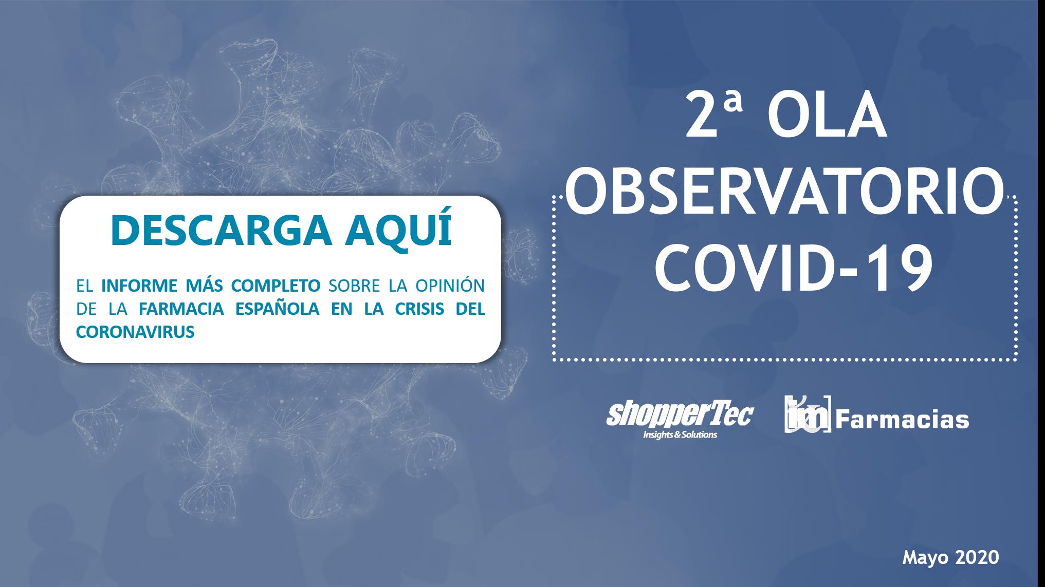 2º Observatorio COVID-19: La perspectiva del farmacéutico